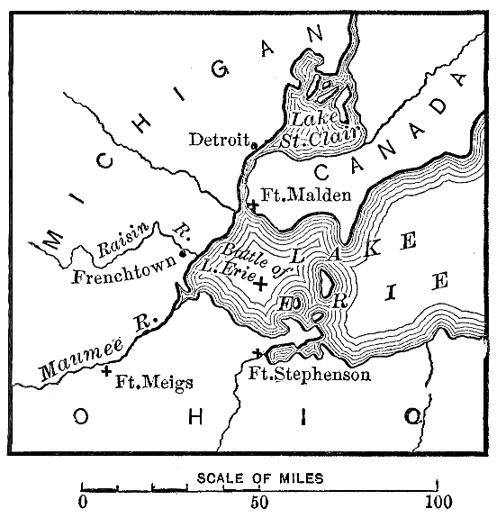 [Map of Lake Erie]