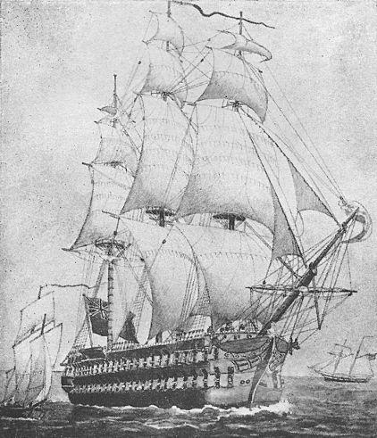 [Sir James Yeo's Flagship, 1814]
